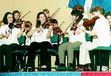 shetland's young fiddlers